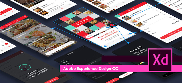 Adobe XD homepage