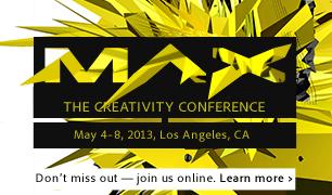 Adobe MAX Keynotes Online